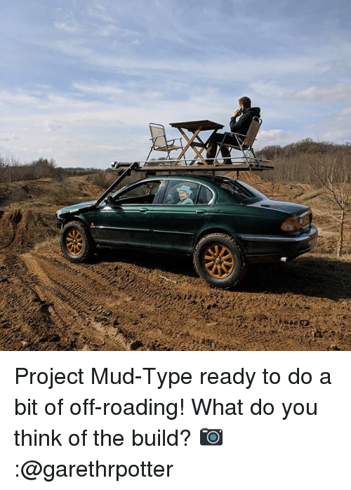 Memes, 🤖, and Project: Project Mud-Type ready to do a bit of off-roading! What do you think of the build? 📷:@garethrpotter