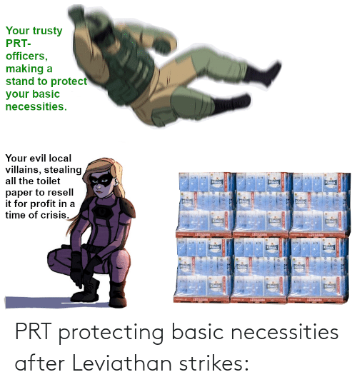 basic: PRT protecting basic necessities after Leviathan strikes: