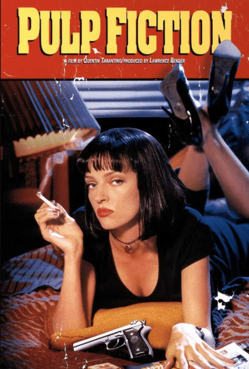 Fictionalize: PULP  FICTION  BY QUENTIN TARANTINO/PRODUCED BY LAWRENCE BENDER
