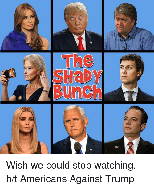 Memes, 🤖, and Stop Watch: Punch Wish we could stop watching.   h/t Americans Against Trump