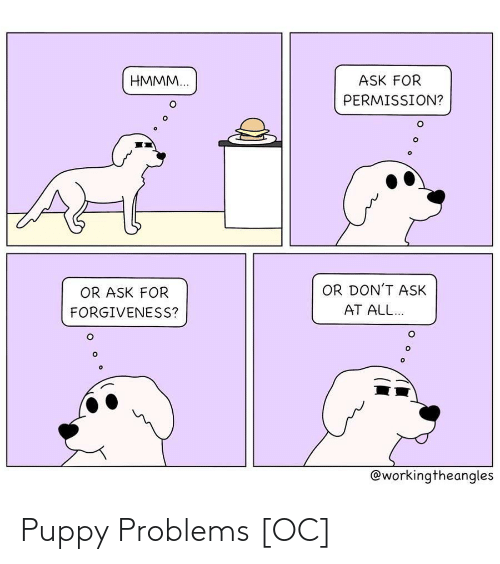problems: Puppy Problems [OC]