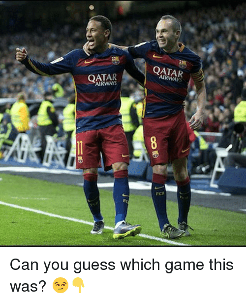 Memes, Game, and Guess: QATAR  AIRWAYS  ECIl Can you guess which game this was? 😏👇