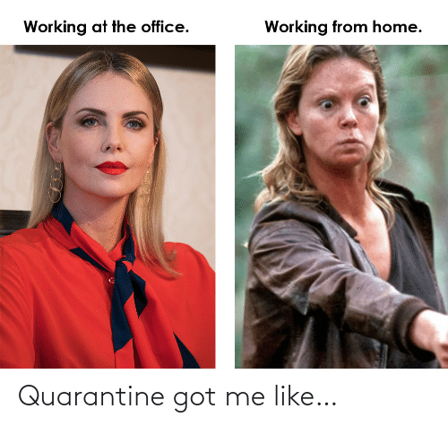 Got Me: Quarantine got me like…