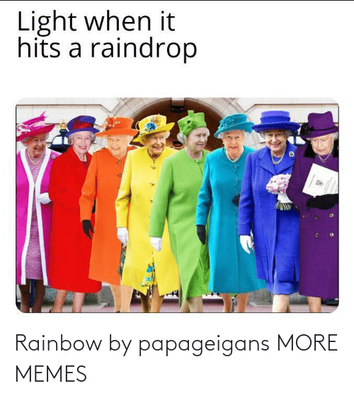 Rainbow: Rainbow by papageigans MORE MEMES