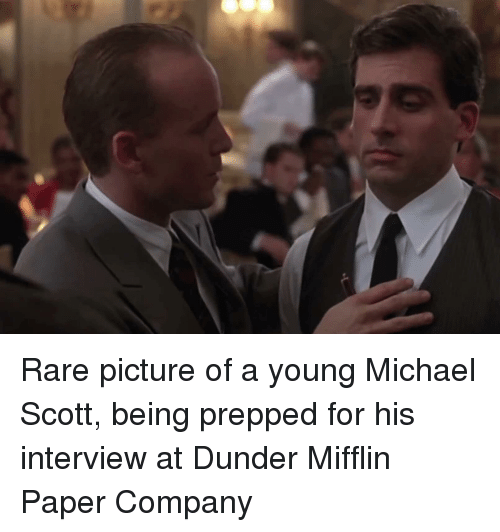 Michael Scott, The Office, and Michael