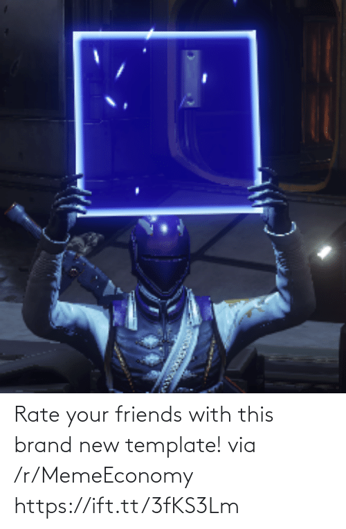 brand new: Rate your friends with this brand new template! via /r/MemeEconomy https://ift.tt/3fKS3Lm