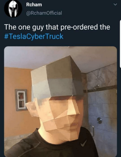One, Guy, and That: Rcham  @RchamOfficial  The one guy that pre-ordered the