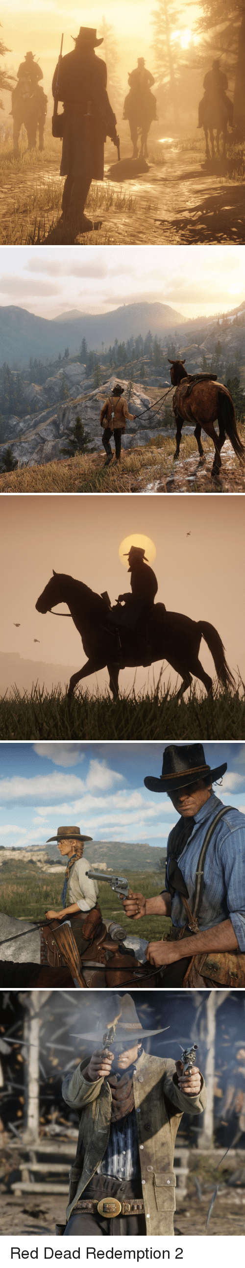 Red Dead Redemption, Red Dead, and Red: Red Dead Redemption 2