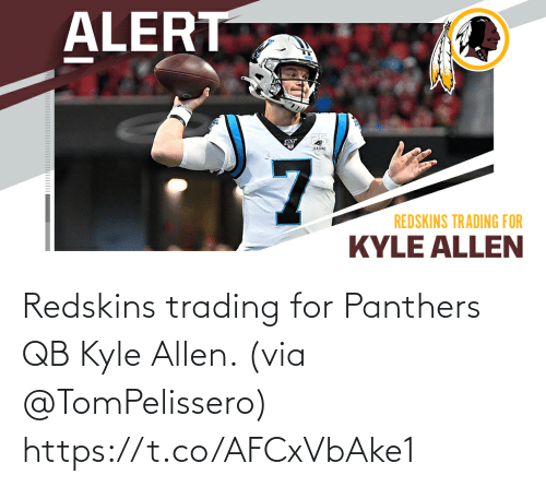 allen: Redskins trading for Panthers QB Kyle Allen. (via @TomPelissero) https://t.co/AFCxVbAke1