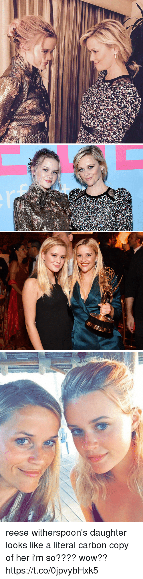 Wow, Girl Memes, and Her: reese witherspoon's daughter looks like a literal carbon copy of her i'm so???? wow?? https://t.co/0jpvybHxk5
