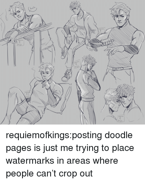 Target, Tumblr, and Blog: regwem  em  Pin  oww  heawem  em requiemofkings:posting doodle pages is just me trying to place watermarks in areas where people can't crop out