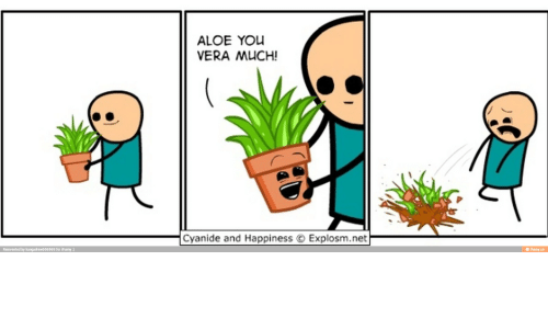 Cyanides And Happiness: Reinvented by kangadrew696969 for iFunny  ALOE YOU  VERA MUCH!  Cyanide and Happiness Explosm.net  ifunny.co