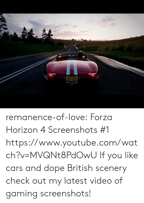 horizon: remanence-of-love:  Forza Horizon 4 Screenshots #1    https://www.youtube.com/watch?v=MVQNt8PdOwU  If you like cars and dope British scenery check out my latest video of gaming screenshots!