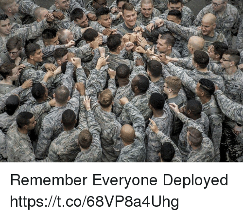 Memes, 🤖, and Remember: Remember Everyone Deployed https://t.co/68VP8a4Uhg