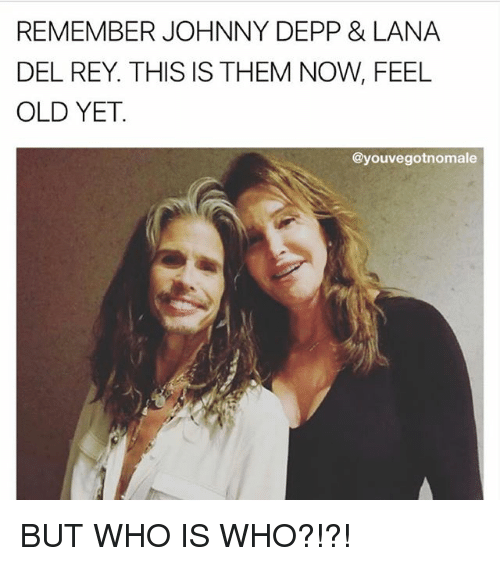 Feeling Old: REMEMBER JOHNNY DEPP & LANA  DEL REY. THIS IS THEM NOW, FEEL  OLD YET.  @youvegotnomale BUT WHO IS WHO?!?!