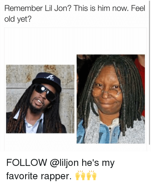 Lil Jon: Remember Lil Jon? This is him now. Feel  old yet? FOLLOW @liljon he's my favorite rapper. 🙌🙌