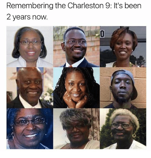 Memes, Charleston, and Been: Remembering the Charleston 9: It's been  2 years now.
