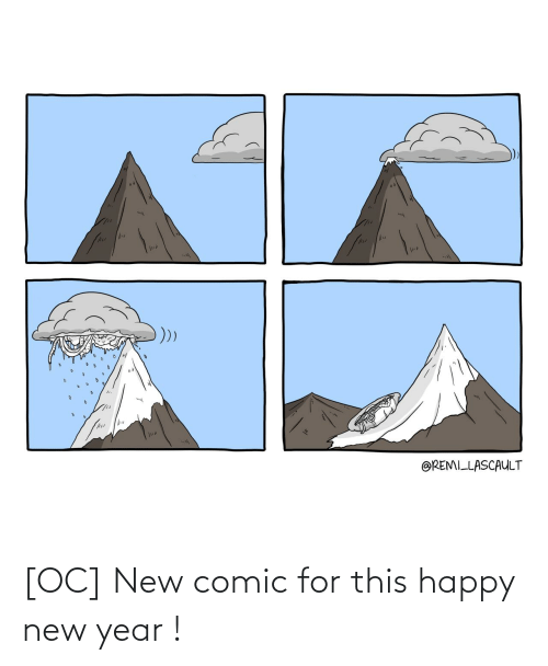 comic: @REMILLASCAULT [OC] New comic for this happy new year !