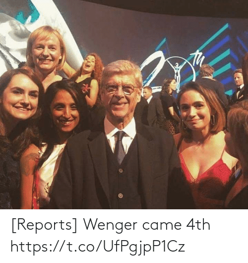 wenger: [Reports] Wenger came 4th https://t.co/UfPgjpP1Cz