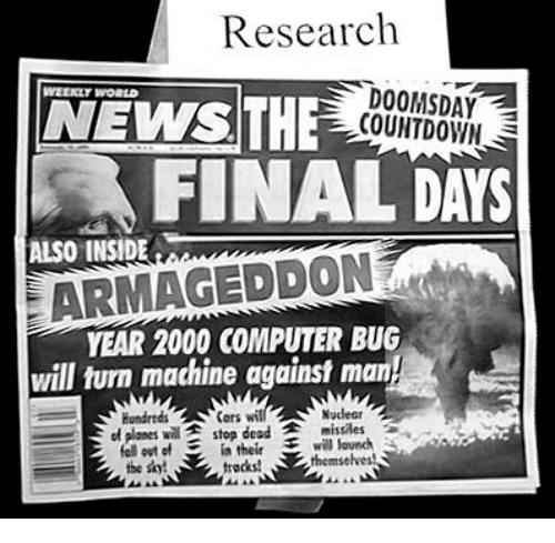 an overview of the y2k issue during the year 1999