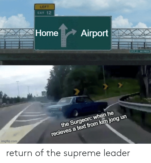 Supreme: return of the supreme leader