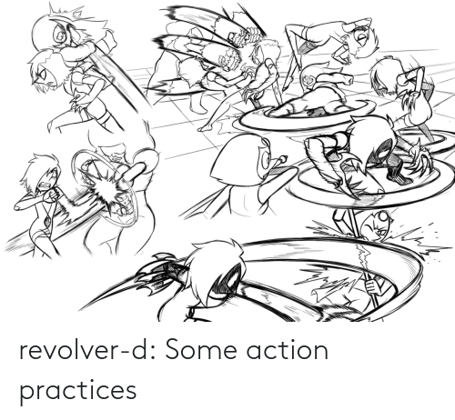 revolver: revolver-d:  Some action practices