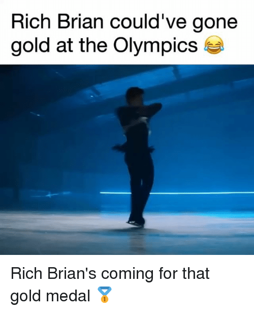 Memes, Olympics, and 🤖: Rich Brian could've gone  gold at the Olympics Rich Brian's coming for that gold medal 🥇