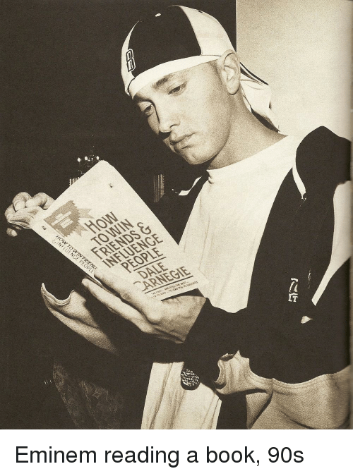 Eminem, Book, and 90's: RIENDS  PEOPLE