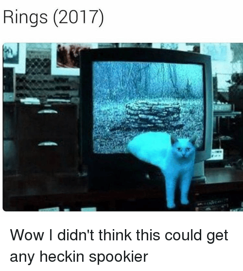 Heckin: Rings (2017) Wow I didn't think this could get any heckin spookier