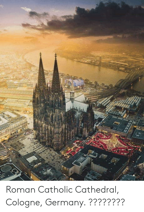 Germany, Catholic, and Roman: Roman Catholic Cathedral, Cologne, Germany. ????????