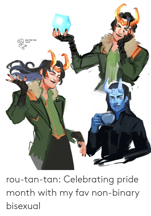 Target, Tumblr, and Blog: rou-tan-tan: Celebrating pride month with my fav non-binary bisexual