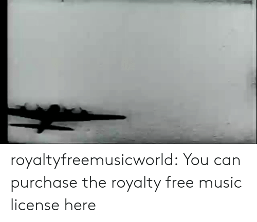 Music, Tumblr, and Blog: royaltyfreemusicworld:  You can purchase the royalty free music license here