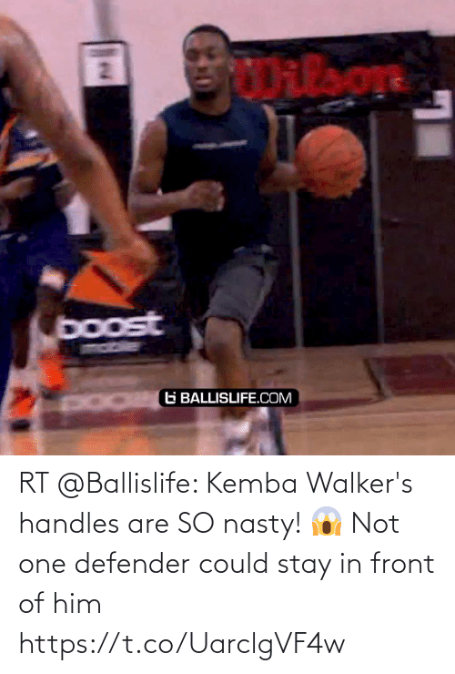 Stay In: RT @Ballislife: Kemba Walker's handles are SO nasty! 😱 Not one defender could stay in front of him https://t.co/UarclgVF4w