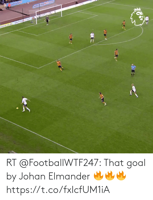 Goal: RT @FootballWTF247: That goal by Johan Elmander 🔥🔥🔥  https://t.co/fxIcfUM1iA