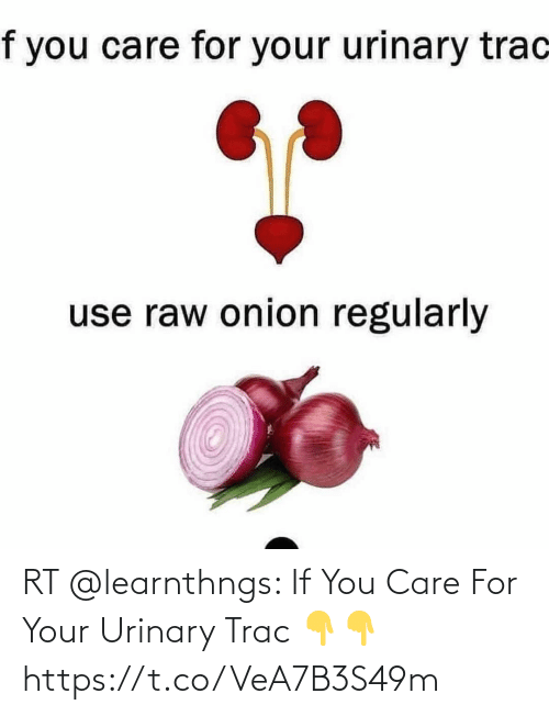care: RT @learnthngs: If You Care For Your Urinary Trac 👇👇 https://t.co/VeA7B3S49m