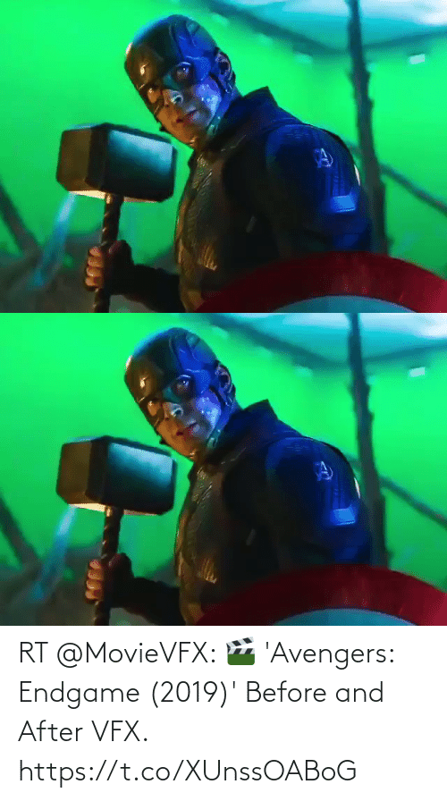 endgame: RT @MovieVFX: 🎬 'Avengers: Endgame (2019)' Before and After VFX. https://t.co/XUnssOABoG