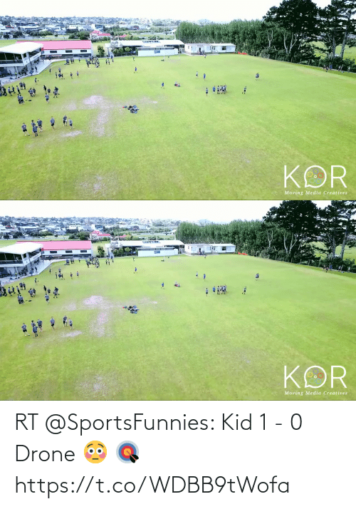 soccer: RT @SportsFunnies: Kid 1 - 0 Drone 😳 🎯 https://t.co/WDBB9tWofa
