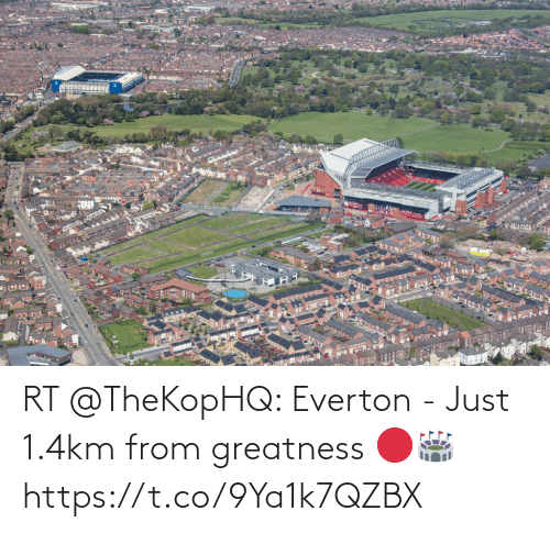 soccer: RT @TheKopHQ: Everton - Just 1.4km from greatness 🔴🏟 https://t.co/9Ya1k7QZBX