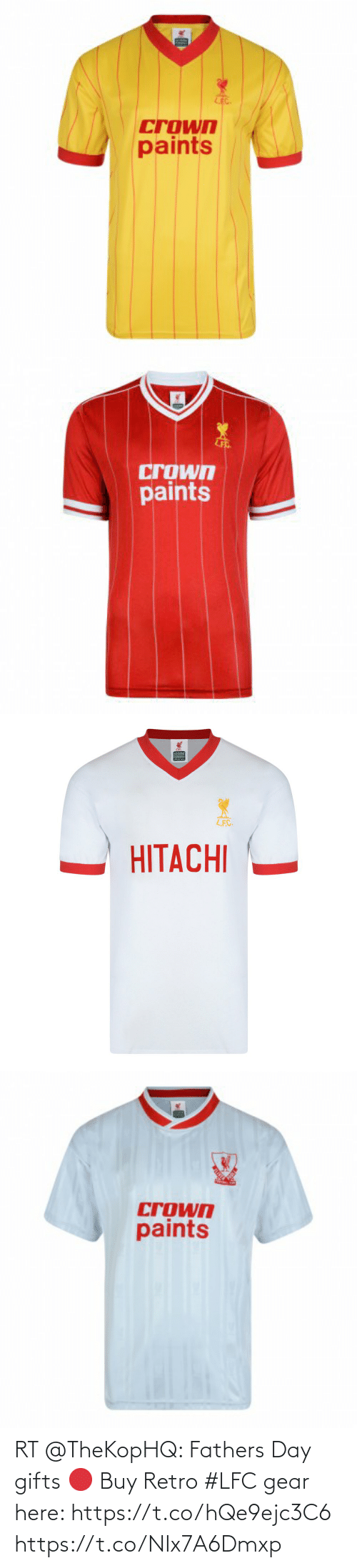 soccer: RT @TheKopHQ: Fathers Day gifts 🔴  Buy Retro #LFC gear here: https://t.co/hQe9ejc3C6 https://t.co/NIx7A6Dmxp
