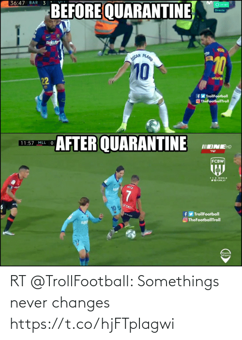 soccer: RT @TrollFootball: Somethings never changes https://t.co/hjFTpIagwi