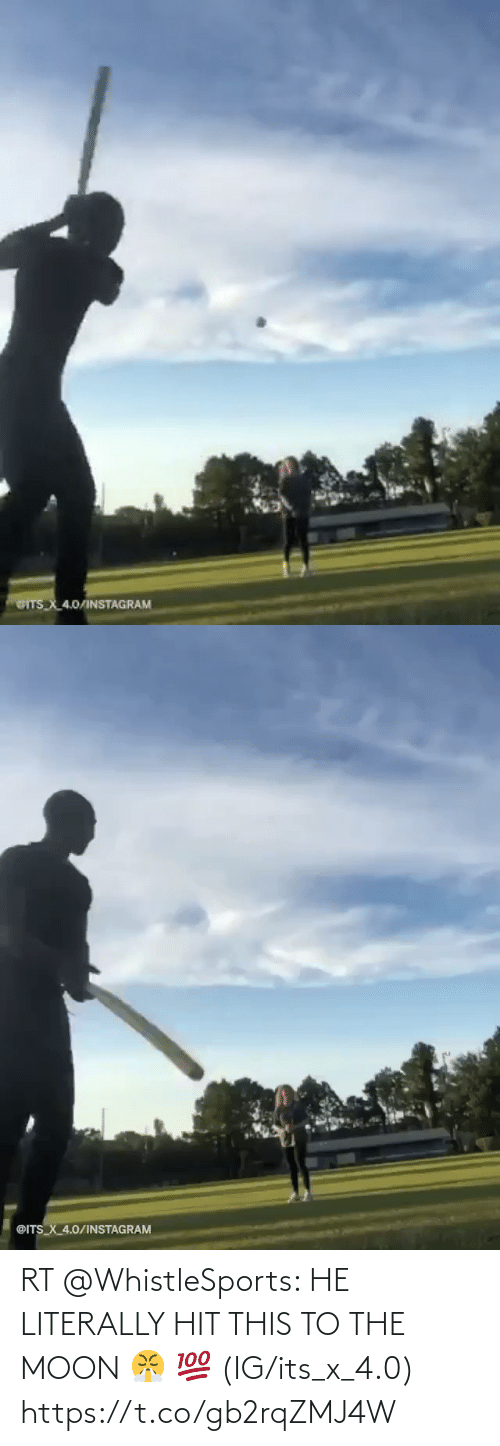 Its: RT @WhistleSports: HE LITERALLY HIT THIS TO THE MOON 😤  💯  (IG/its_x_4.0) https://t.co/gb2rqZMJ4W