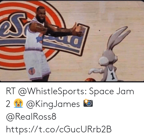 Space: RT @WhistleSports: Space Jam 2 😭 @KingJames   📸 @RealRoss8 https://t.co/cGucURrb2B