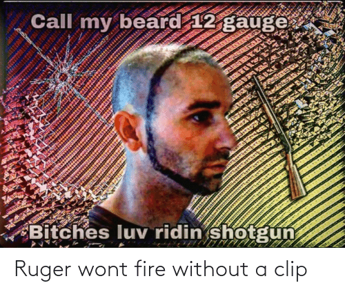 Without: Ruger wont fire without a clip