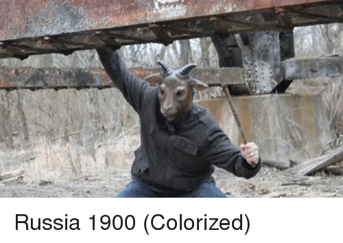 Russia and Colorized: Russia 1900 (Colorized)