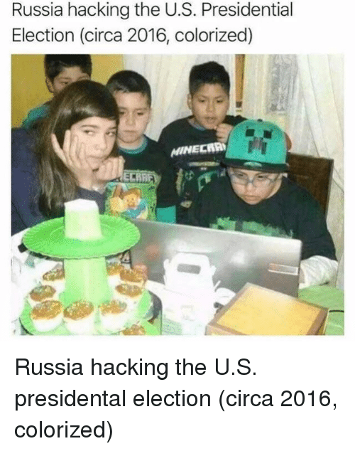 Presidential Election, Russia, and Election: Russia hacking the U.S. Presidential  Election (circa 2016, colorized) Russia hacking the U.S. presidental election (circa 2016, colorized)