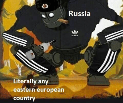 Russia, European, and Country: Russia  odidas  Literally any  eastern european  country