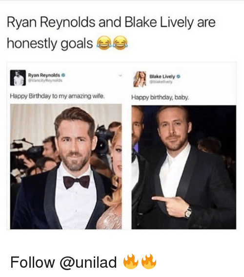 Ryan Reynolds And Blake Lively Ryan Reynolds and Blak...