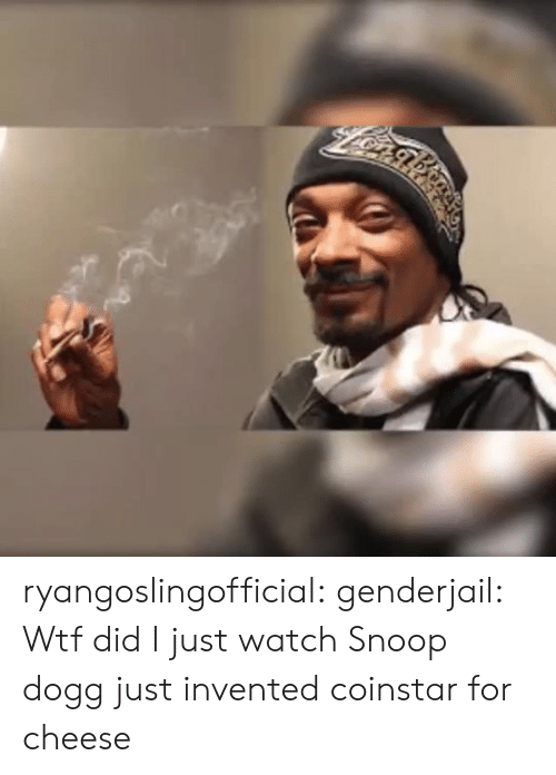 Snoop, Snoop Dogg, and Target: ryangoslingofficial: genderjail: Wtf did I just watch Snoop dogg just invented coinstar for cheese
