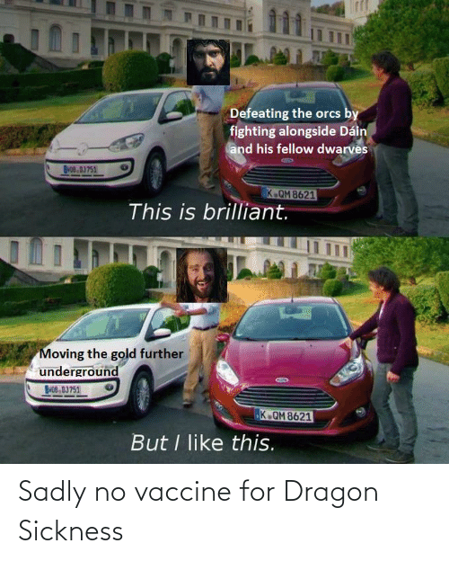 sadly: Sadly no vaccine for Dragon Sickness