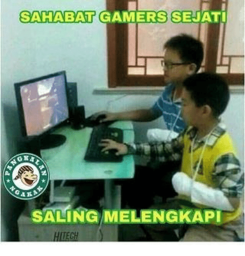 Indonesian (Language), Salinger, and Saling: SAHABAT GAMERSSEJATI  SALING MELENGKAPI